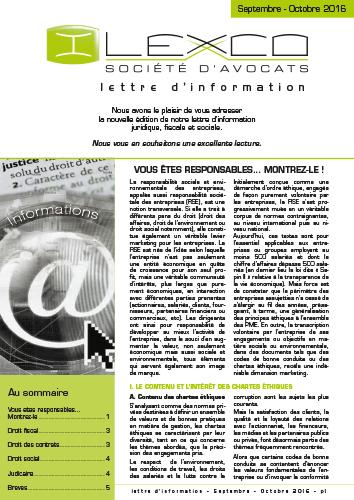 Lettre info Sept-Oct 2016