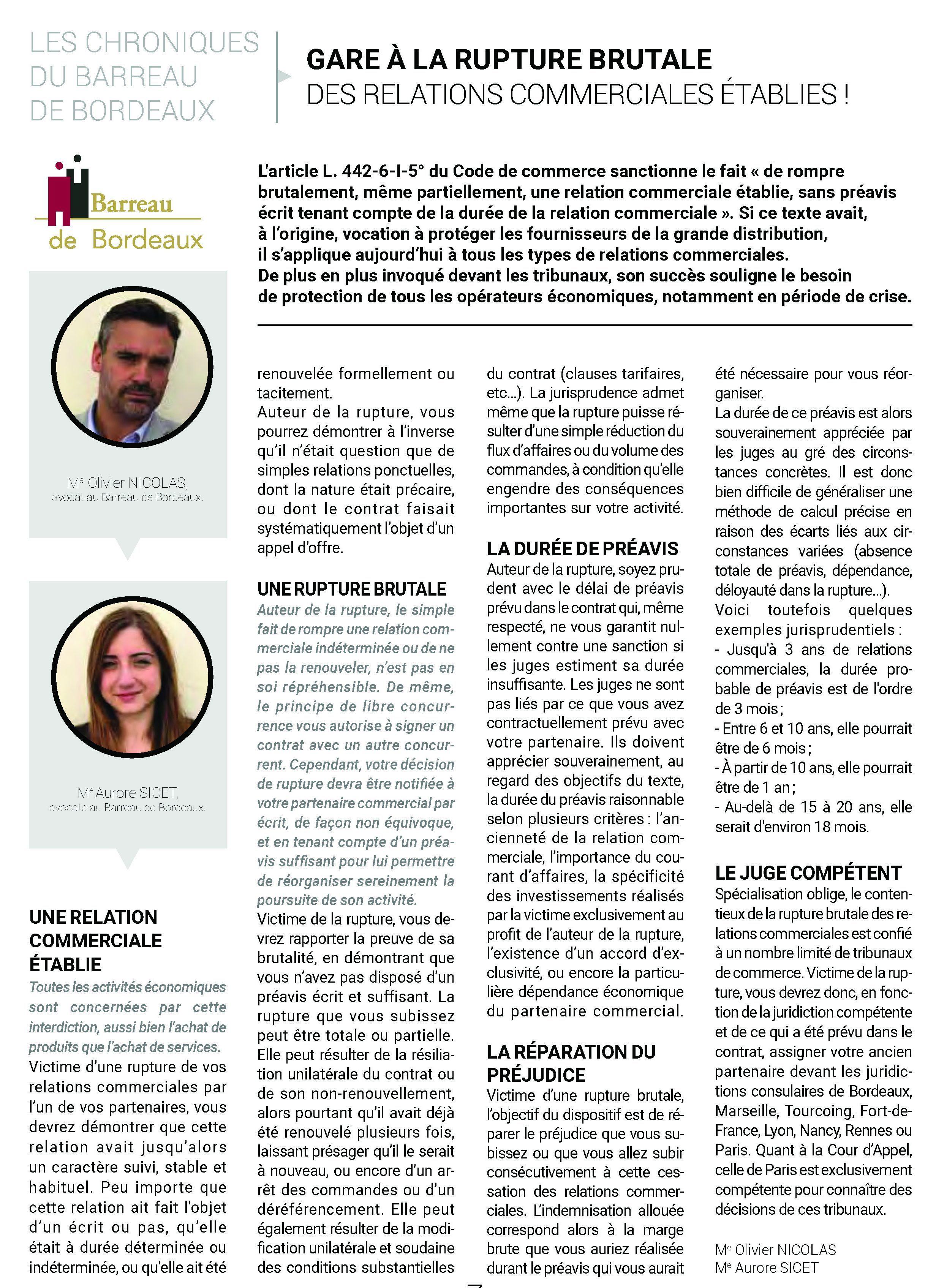 Les Echos Judiciaires Girondins LEXCO